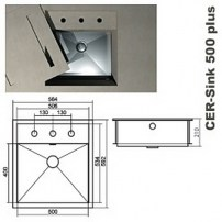 CER-sink plus 500