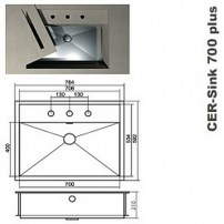 CER-sink plus 700